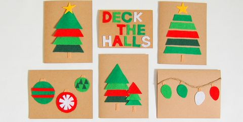 10 Best DIY Christmas Card Ideas 2018 - Cute Cards for Seasons Greetings