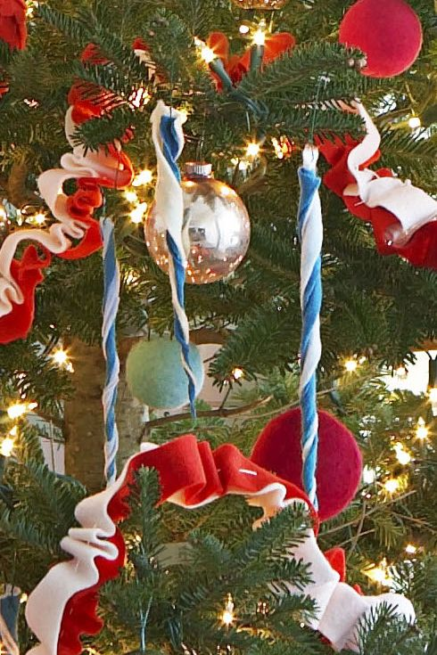 55 Homemade Christmas Ornaments - DIY Handmade Holiday Tree Ornament Craft  Ideas - 55 Homemade Christmas Ornaments - DIY Handmade Holiday Tree Ornament