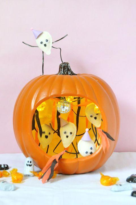 pumpkin seed halloween crafts for kids