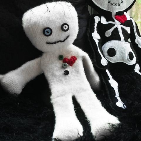 felted mummy doll