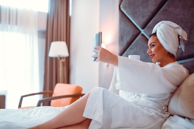 toalla turbante seca pelo y tratante