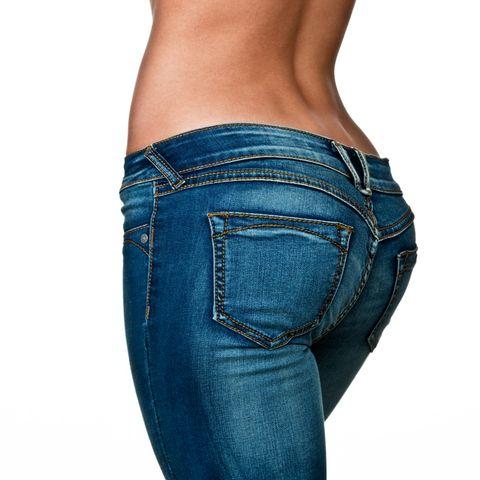 female buttocks