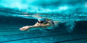 why should runners be swimming