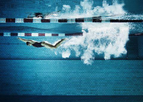 水泳 効果 有酸素運動 ダイエット カロリー 消費
