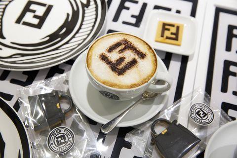 Fendi cafe pop up at Harrods