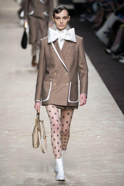 Fashion, Fashion model, Fashion show, Clothing, Runway, Street fashion, Outerwear, Human, Public event, Haute couture,