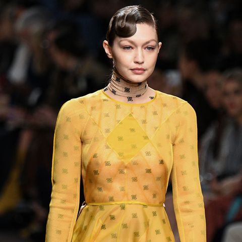 063f16ecbdb0 Karl Lagerfeld s last-ever collection for Fendi was shown at MFW ...