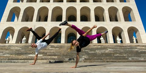 Dance, Physical fitness, Flip (acrobatic), Acrobatics, Fun, Street dance, Performing arts, Event, B-boying, Performance,