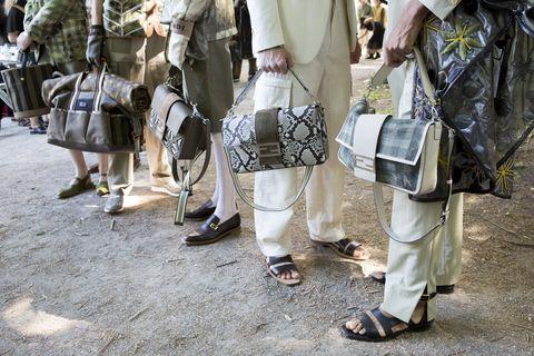 Street fashion, Street, Uniform, Shoe,
