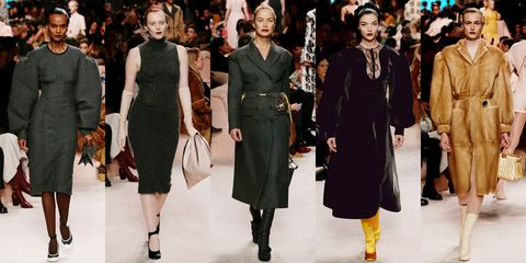 Fashion model, Fashion, Clothing, Runway, Fashion show, Haute couture, Overcoat, Human, Event, Outerwear,