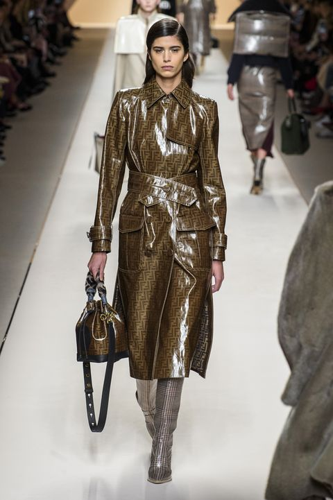 48f3fe4eae58e5 Looks From Fendi Fall 2018 MYFW Show – Fendi Runway at Milan Fashion ...