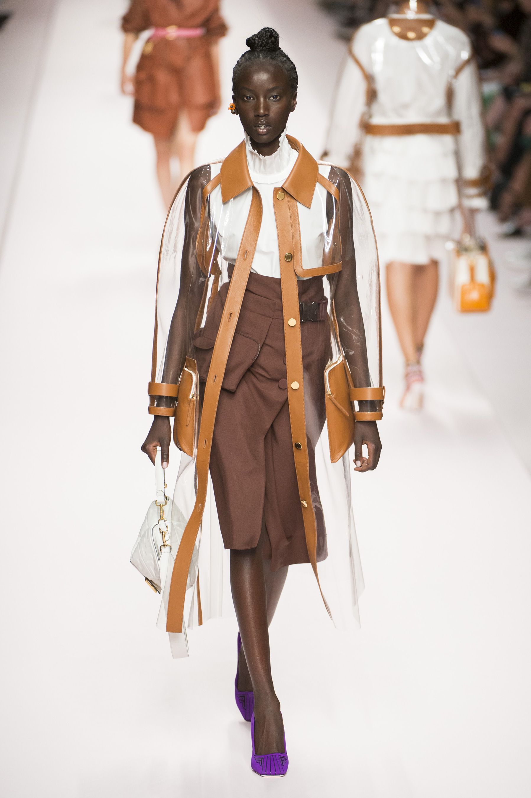 54996dc2915 See All the Looks from the Spring 2019 Fendi Show