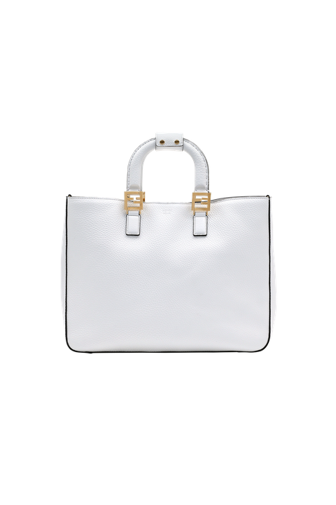 Handbag, Bag, White, Fashion accessory, Leather, Luggage and bags, Material property, Shoulder bag, Satchel, Beige,