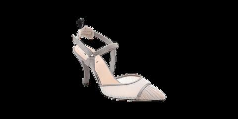 Footwear, Sandal, High heels, Shoe, Slingback, Mary jane, Beige, Bridal shoe, Basic pump, Court shoe,