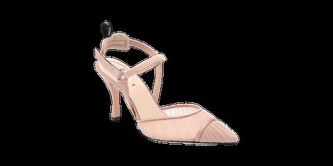 Sandal, High heels, Tan, Beige, Foot, Basic pump, Slingback, Bridal shoe, Wedge, Fashion design,