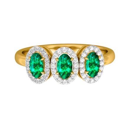 fenton  co emerald ring