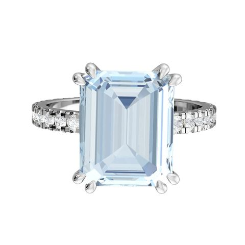 best emerald cut engagement rings fenton  co ring
