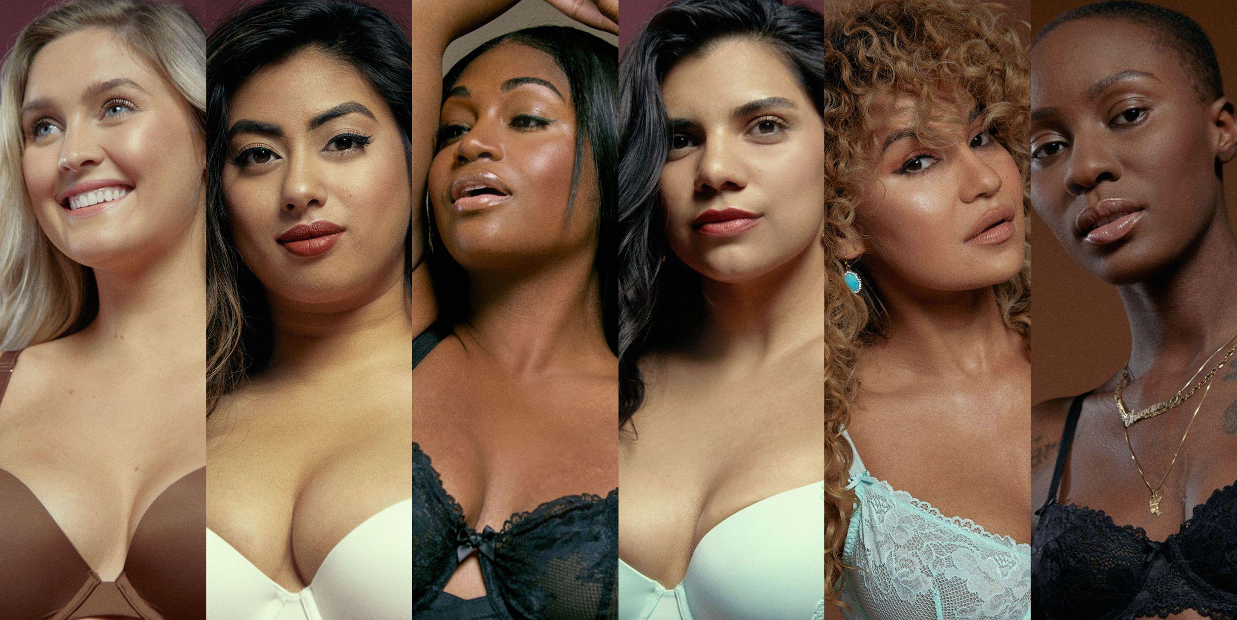 20 Women Sized 32A to 40DD Test-Drive Rihanna's Savage X Fenty Bras