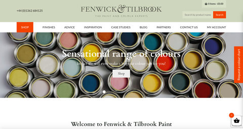 fenwick  tilbrook website