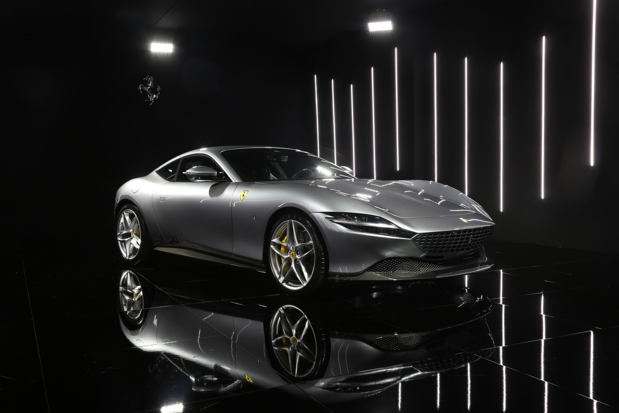 The all,new 2020 Ferrari Roma is a stunning Italian,bred