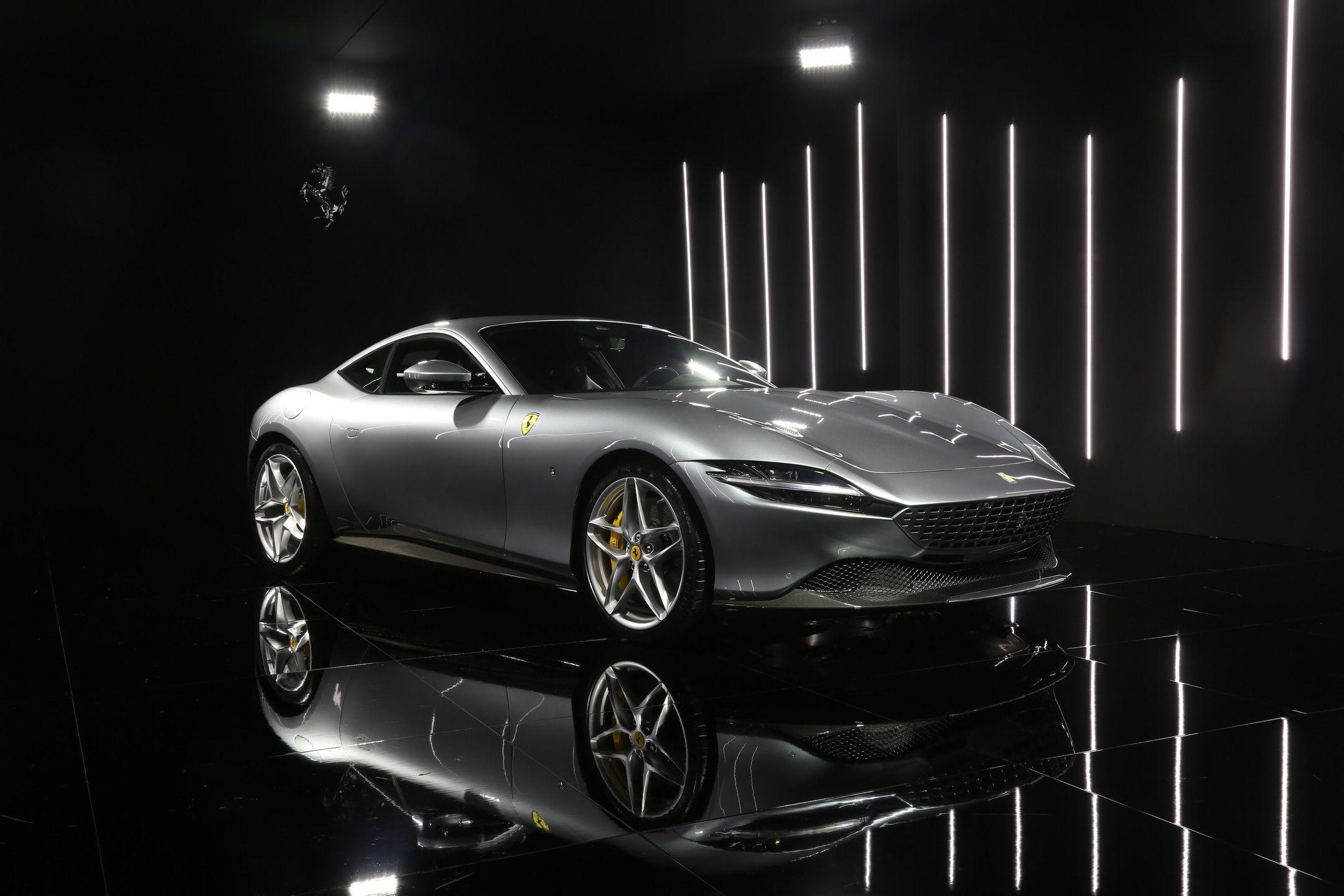 The all,new 2020 Ferrari Roma is a stunning Italian,bred