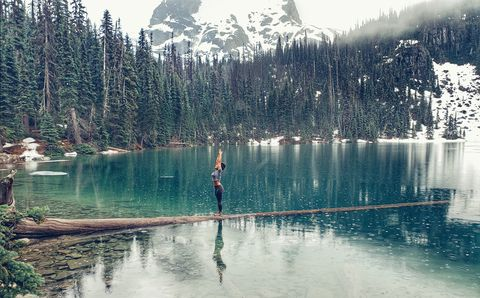 Water, Nature, Sky, Natural landscape, Reflection, Wilderness, Lake, Tree, Mountain, Natural environment,