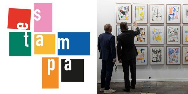 feria de arte contemporáneo estampa en ifema madrid