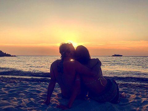 Sky, Love, Cloud, Sunset, Horizon, Sea, Ocean, Romance, Beauty, Morning,