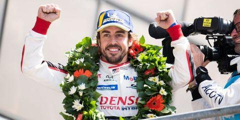 Fernando Alonso gana le mans campeon del mundo resistencia