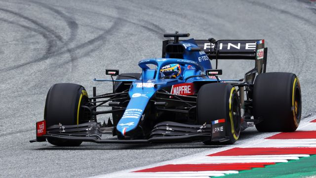 f1 grand prix of austria fernando alonso