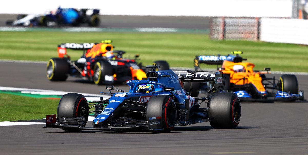 Del 11º al 5º: Alonso brilló con otra de sus salidas mágicas