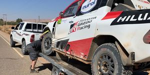 Fernando Alonso Rally Marruecos Etapa 3 Accidente
