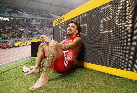Fernando Carro, 3.000m obstáculos, Doha 2019