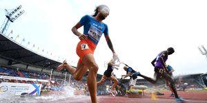 Fernando Carro en los 3.000m obstáculos