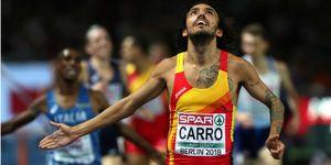 Fernando Carro, plusmarquista español de obstáculos
