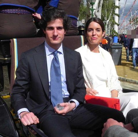 Fernando Fitz-James Stuart y Sofía Palazuelo ultiman los detalles de su boda