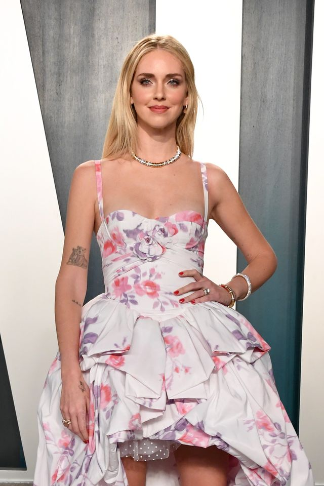 beverly hills, california   february 09 chiara ferragni attends the 2020 vanity fair oscar party hosted by radhika jones at wallis annenberg center for the performing arts on february 09, 2020 in beverly hills, california photo by jon kopaloffwireimage