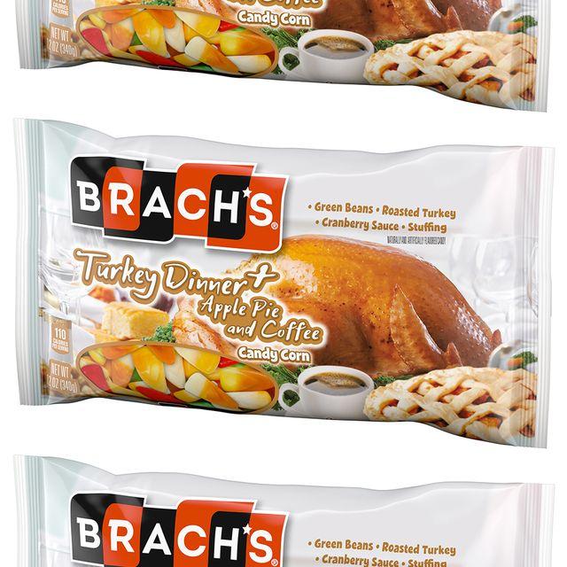 ferrara brach's turkey dinner plus apple pie and coffee candy corn