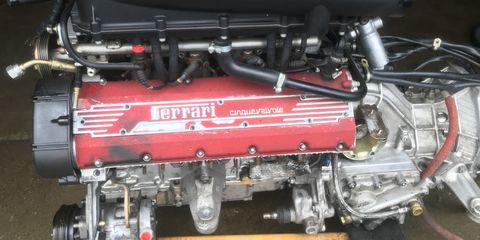 Engine, Auto part, Vehicle, Automotive engine part, Car, Automotive super charger part, Rocker cover,