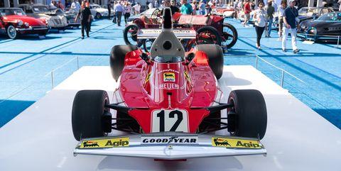Ferrari 312T Niki Lauda subasta en Pebble Beach