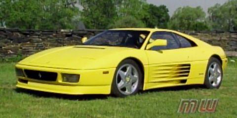 Land vehicle, Vehicle, Car, Ferrari 348, Supercar, Coupé, Sports car, Ferrari tr, Ferrari testarossa, Ferrari f355,