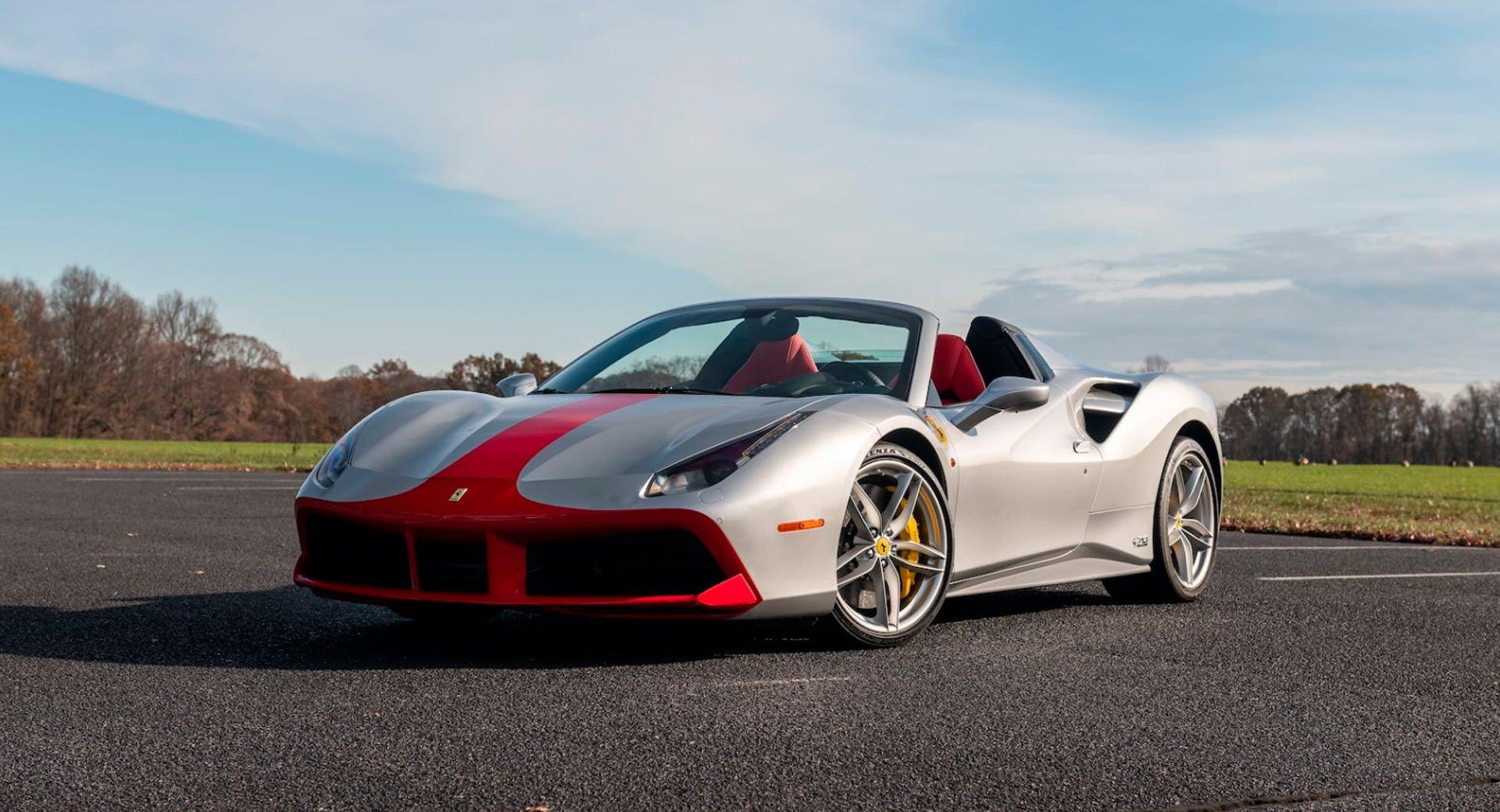 El Ferrari 488 Spider 70 Aniversario Sale A Subasta Ocasion Unica