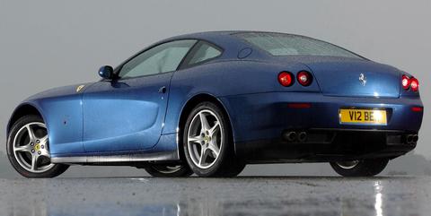 Land vehicle, Vehicle, Car, Ferrari 612 scaglietti, Sports car, Luxury vehicle, Automotive design, Personal luxury car, Performance car, Supercar,