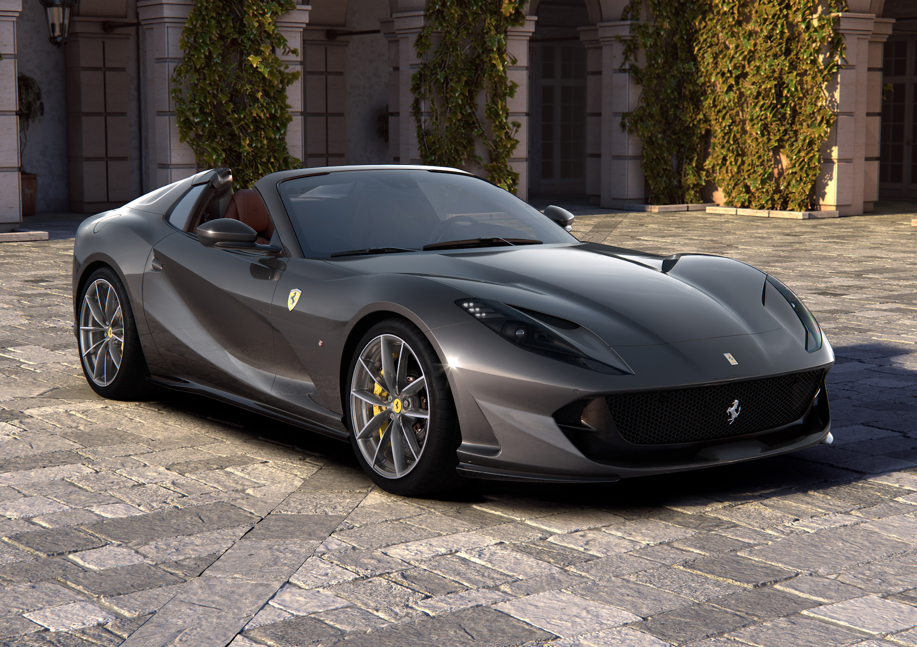 The Ferrari 812 GTS Lets You Hear That Glorious 789-HP V-12 Even Better