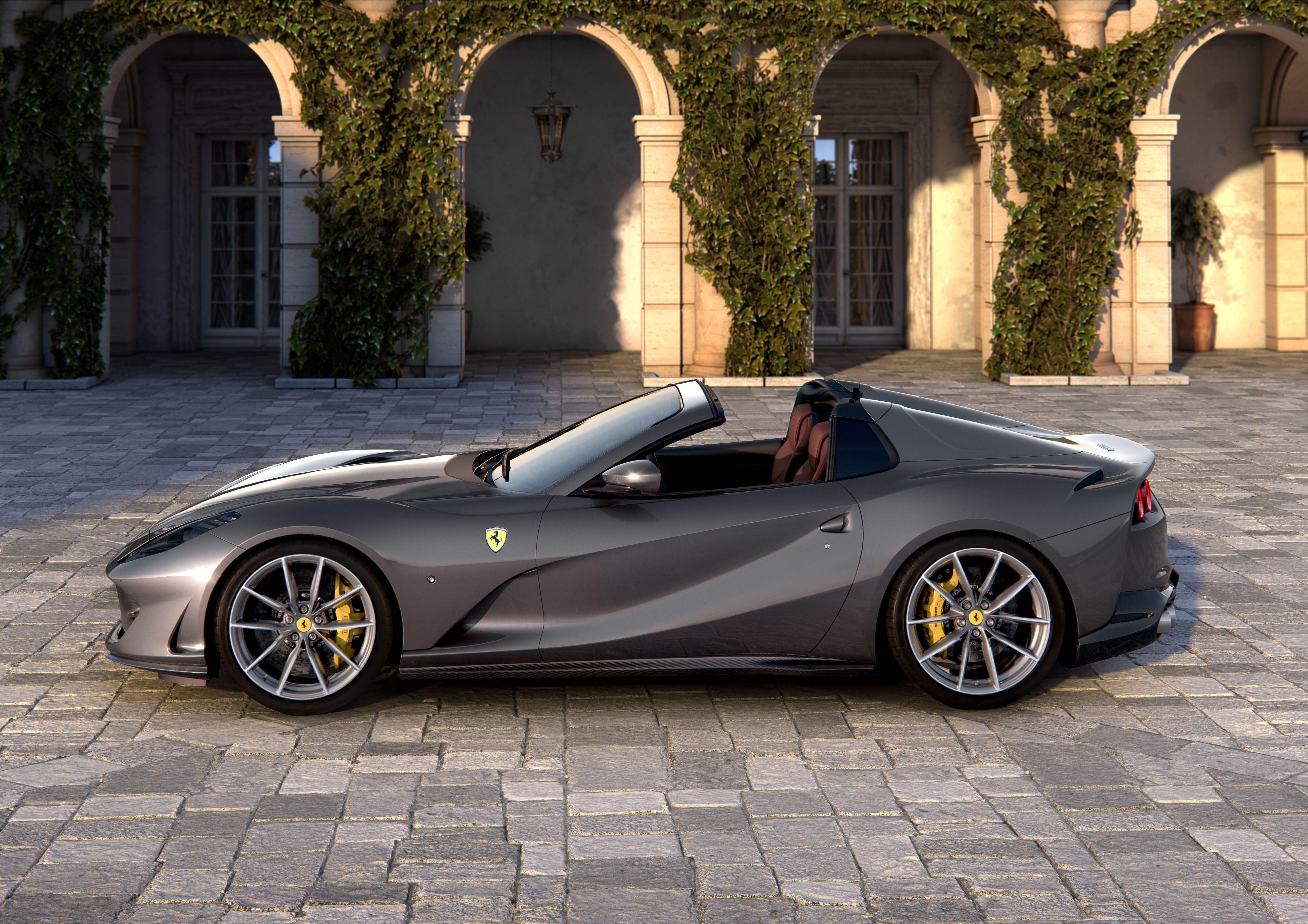 Ferrari 812 Gts Has 789 Hp And A Retractable Hardtop
