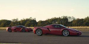 Ferrari Enzo y LaFerrari