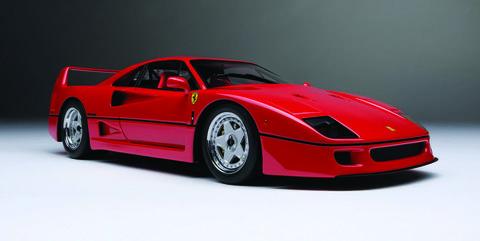 Land vehicle, Vehicle, Car, Supercar, Sports car, Ferrari f40, Coupé, Automotive design, Race car, Model car,
