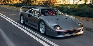 Ferrari F40 restauración