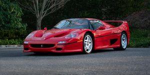 Ferrari F50 prototipo subasta