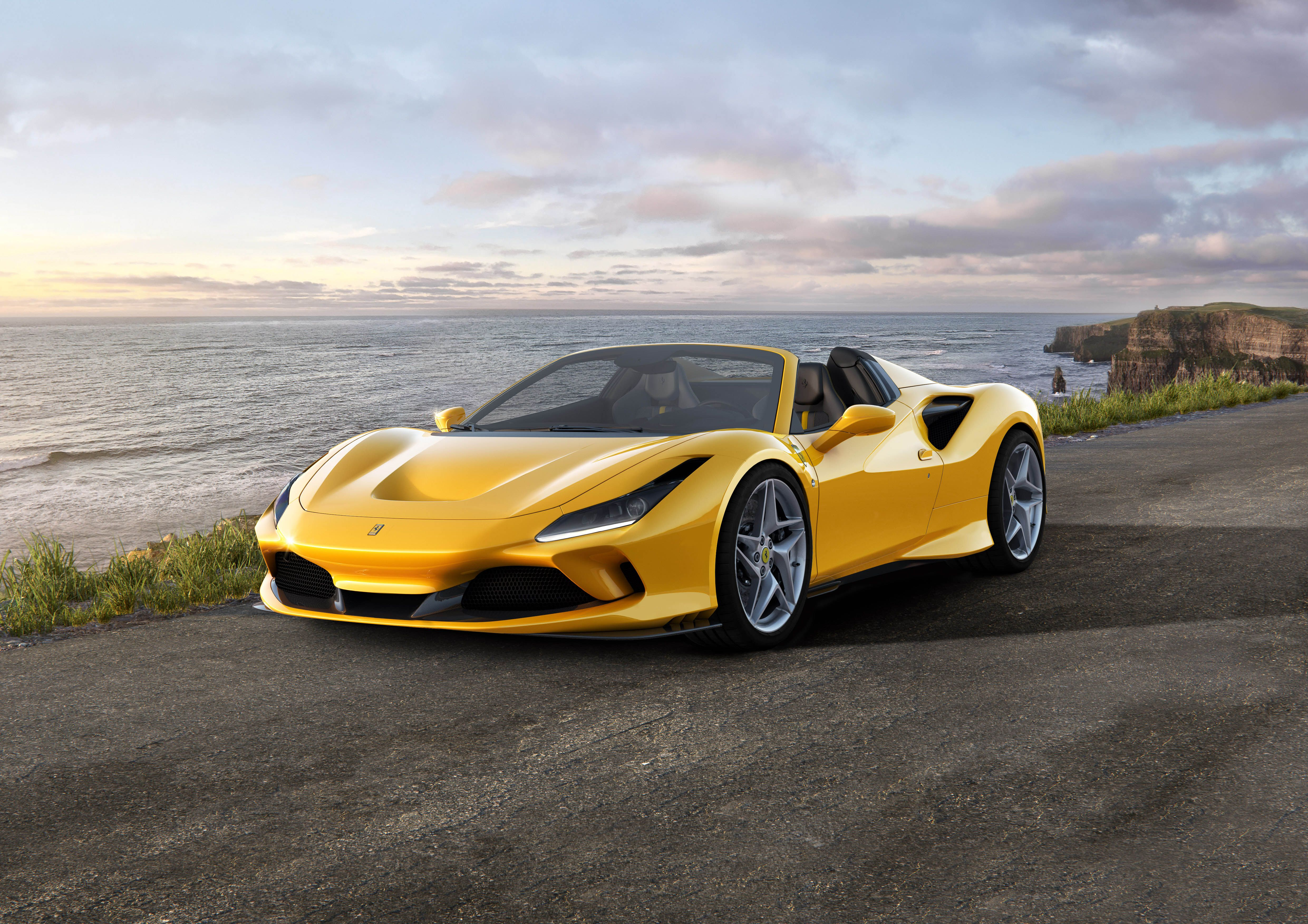 Ferrari F8 Spider Is the 710,HP Tributo Plus Wind in Your Hair